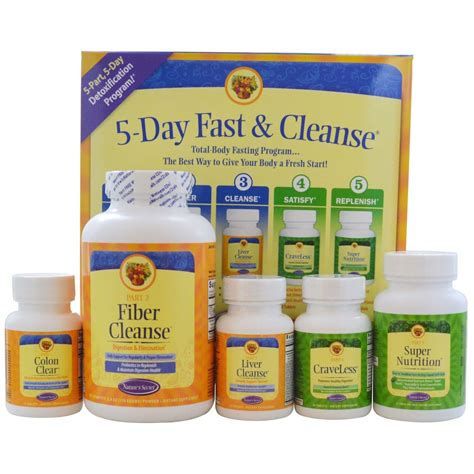 Fasting Detox by Nature S Secret Ultimate Fasting Cleanse Kit 1 Kit
