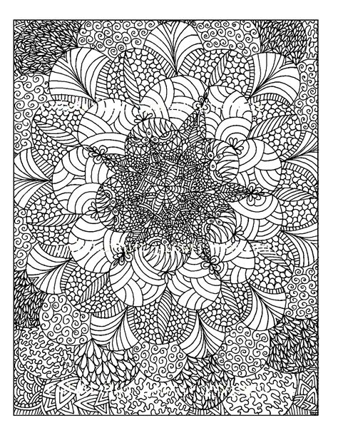 color therapy anti stress coloring book pages free coloring page 171 coloring anti stress to print