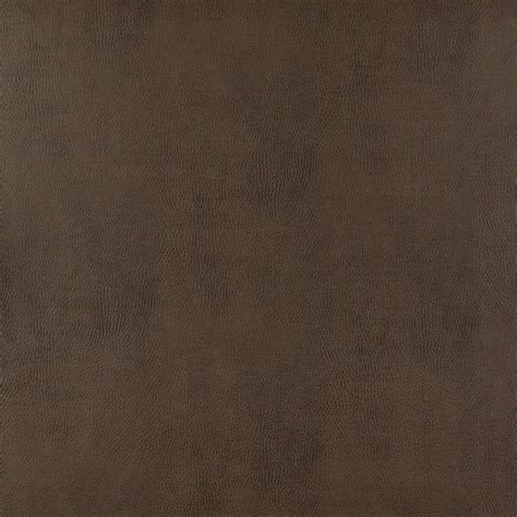 Upholstery Leather Fabric by Brown Matte Nubuck Cattle Leather Look By The Yard