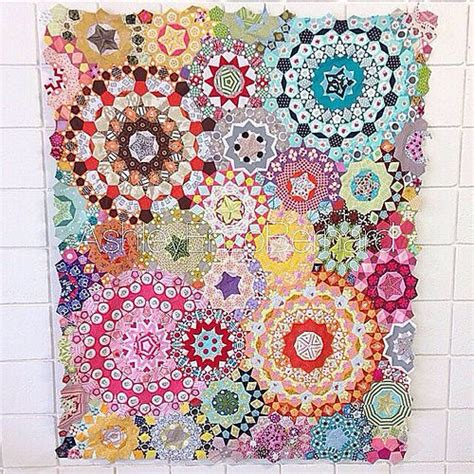 english quilt pattern my kaleidoscope passacaglia quilt top english patterns