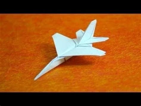 How To Make A Paper Fighter Jet - ka茵莖ttan f16 yap莖m莖