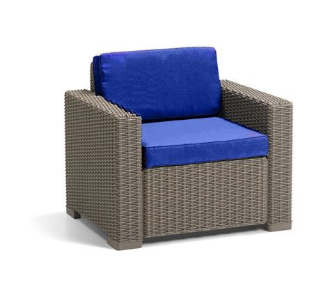 armchair pads cushion pads for keter allibert california rattan garden