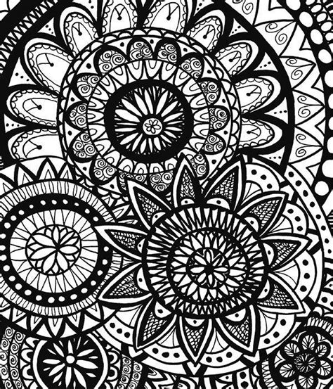calming coloring pages doodle coloring book for adults calming doodles vol 1