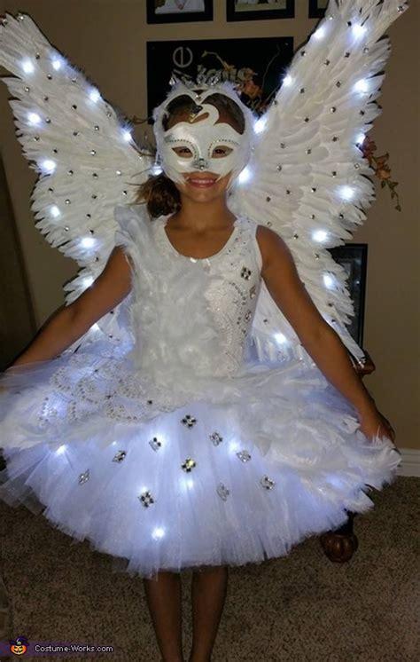 homemade swan costume