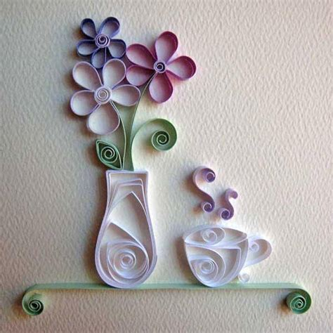 How To Make With Quilling Paper - free paper quilling patterns beesdiy