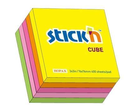 N Note Pronto N Notes stick n note kubusblok 76x76 neonfarver