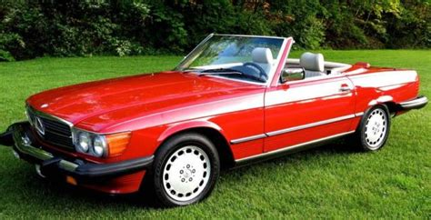 auto body repair training 1988 mercedes benz sl class on board diagnostic system mercedes benz sl class convertible 1988 signal red 568 for sale wdbba48d8ja077066 1988