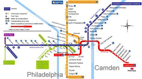 philadelphia subway map pin the philadelphia subway metro usa on