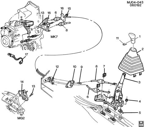 vehicle repair manual 2001 chevrolet cavalier parental controls chevrolet cavalier shift controls manual transmission 5 speed
