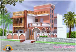 House Designs Mughal Style House Architecture Home Kerala Plans