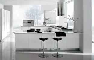 Modern Black And White Kitchen Designs Kitchen Amazing Modern Black And White Kitchen Design