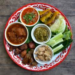 Thai Food File Lanna Cuisine Starters Jpg Wikimedia Commons