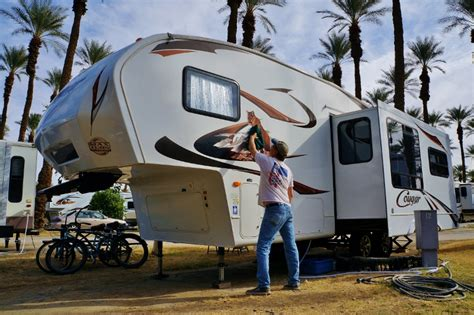 Do Wall Stickers Come Off how i wash wax and detail the rv loveyourrv com blog