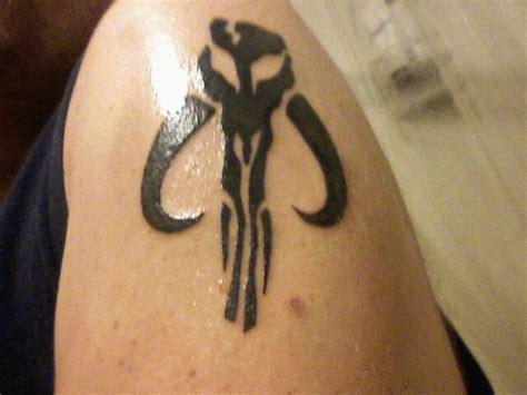 mandalorian tattoo gallery for gt mandalorian shoulder