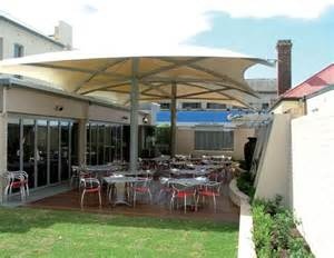 Permanent Shade Canopy by Moodie Shade Structures Permanent Umbrella Moodie