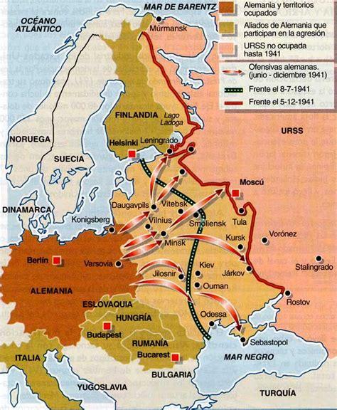 operacion barbarroja segunda guerra mundial desarrollo socialhizo