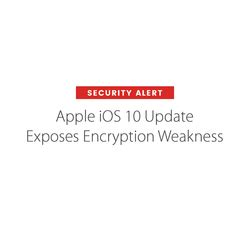 edmodo security breach apple ios 10 update exposes encryption weakness