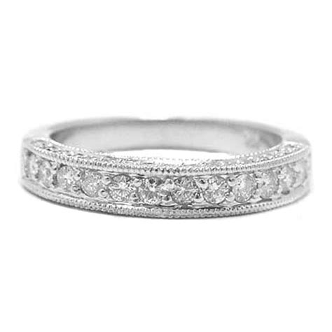 wedding favors antique wedding band white gold for
