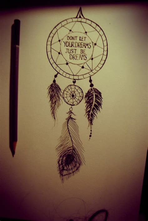dreams about tattoos 31 best drawings quot dreamcatcher quot images on