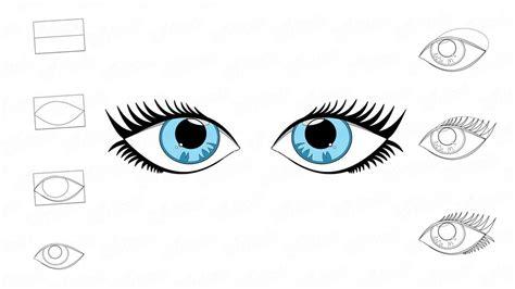 imagenes de ojos realistas para dibujar c 243 mo dibujar los ojos humanos paso a paso