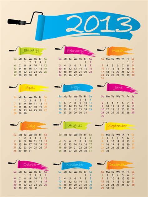 calendar design elements creative calendars 2013 calendar template 2016