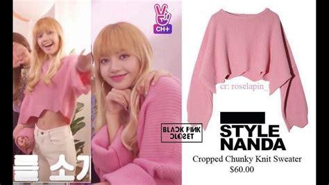 blackpink outfit cost blackpink wardrobe style closet yg fashionista on mv
