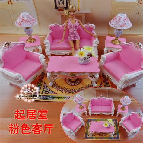 2014 New Doll Furniture Accessories For Barbie Sofa