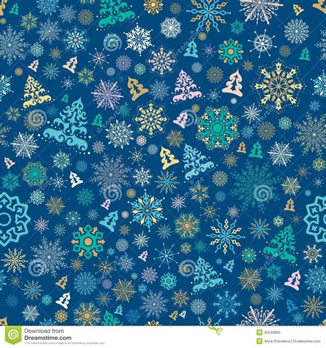 gift pattern background seamless christmas pattern stock vector image of flake