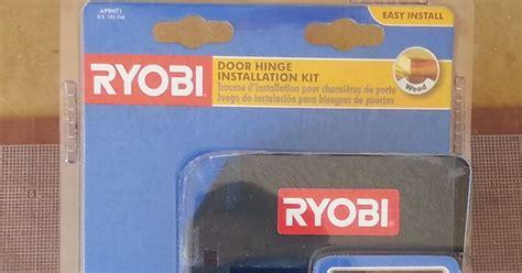 Ryobi Door Hinge Template by Az Diy S Projects Review Ryobi Door Hinge Template