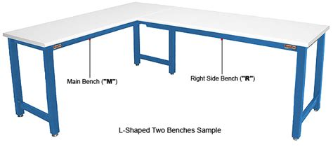 l shaped table top l u shaped tables