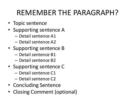 essay structure sentence by sentence essay structure