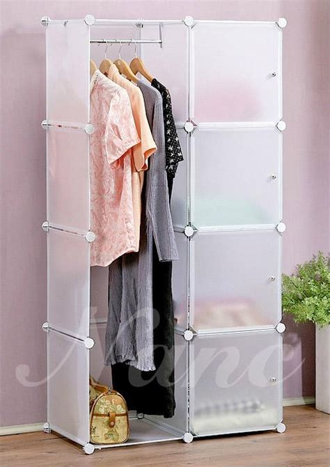 Diy Clothes Cabinet by Diy Plastic Household Storage Cabinet Wardrobe Nc A5042