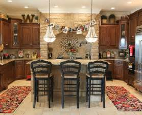 Decorating Ideas For The Kitchen Kitchen Decorating Ideas For Above Cabinets Home