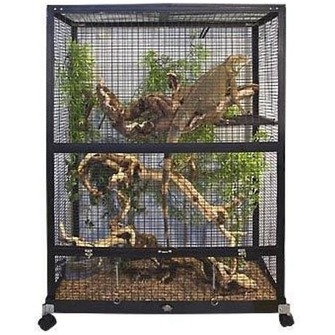 Owl Home Decor Accessories by Zoo Med Zoo Med Reptibreeze Iguanarium Habitat Reptile
