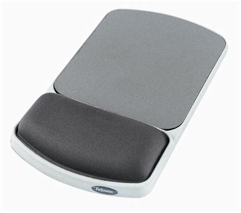fellowes premium gel mouse pad and wrist support graphite