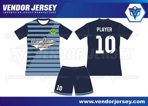desain baju futsal horishine vendor jersey futsal desain seragam futsal depan belakang vendor jersey
