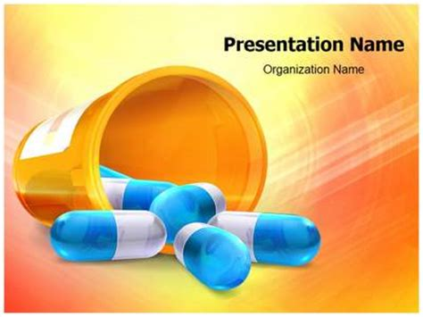 powerpoint templates free download drugs download our professionally designed 3d pills ppt template