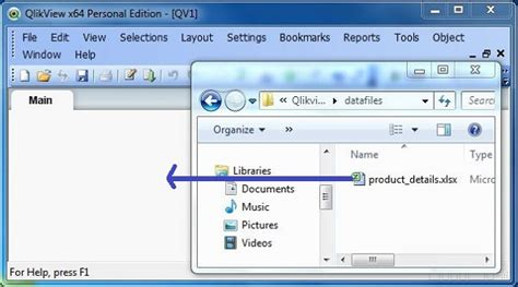 qlikview extension tutorial qlikview excel files