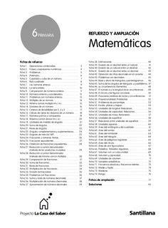 evaluacion mate 6 santillana slideshare evaluacion mate 6 santillana by verotrasna via slideshare