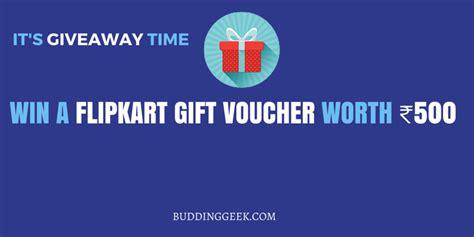 Online Giveaways India - giveaway win a flipkart gift voucher worth 500