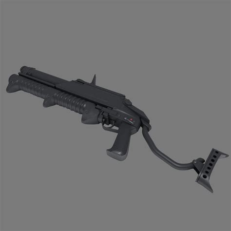 Gm 21 3ds Max Animation gm 94 shotgun