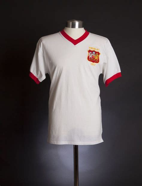 Jersey Retro Mu Away 1996 manchester united 1957 fa cup shirt 1957 aston