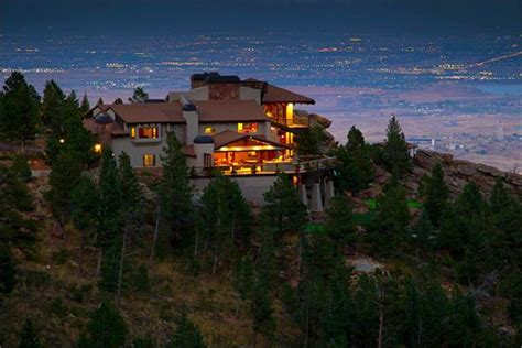 Luxury Log Home Floor Plans blue mountain estate colorado luxury homes mansions
