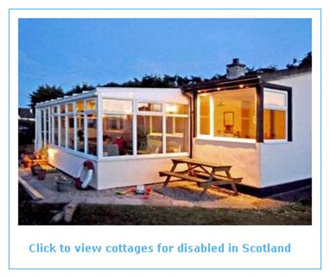 self catering cottages in scotland self catering holidays for the disabled in scotland