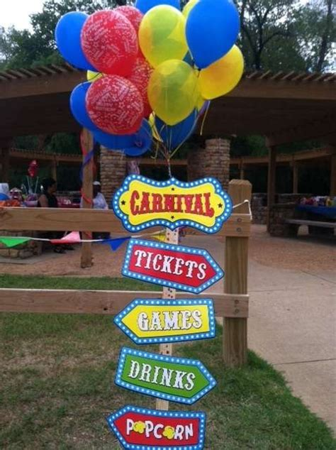 decorations christmas carnivals carnival birthday party ideas photo 13 of 16 catch my