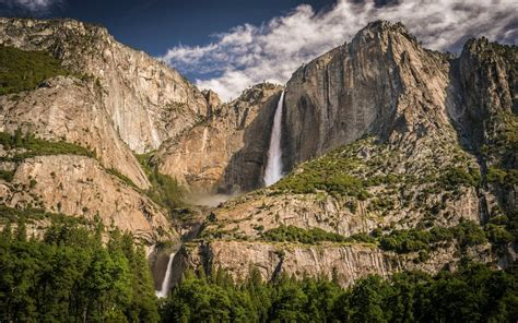 wallpaper full hd yosemite yosemite falls full hd wallpaper and background