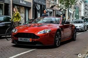 Aston Martin Roadster Aston Martin V12 Vantage Roadster 13 June 2016 Autogespot