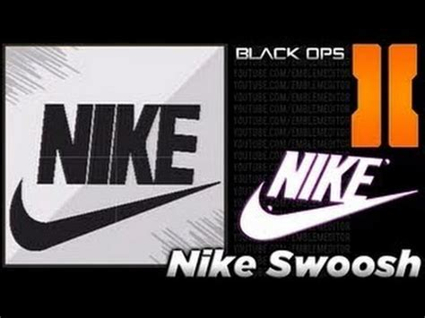 Topi Nike Logo Sing 2 black ops 2 nike swoosh emblem tutorial best emblem rubikdiamond