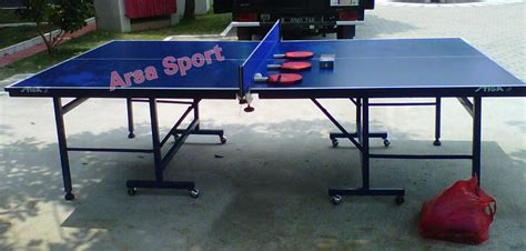 Meja Pingpong Multiplek jual perlengkapan tenis meja ping pong arsa sport