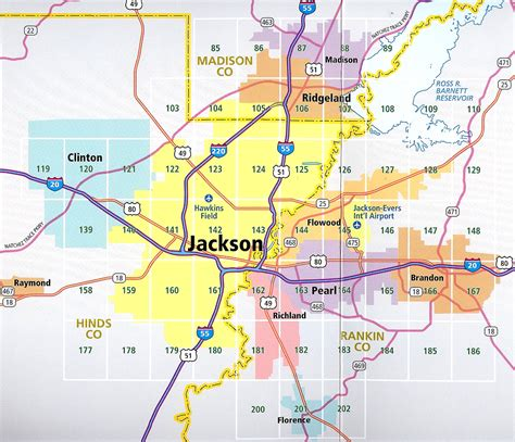 jackson map jackson ms chapter of and of american inc gt about us gt chapter map